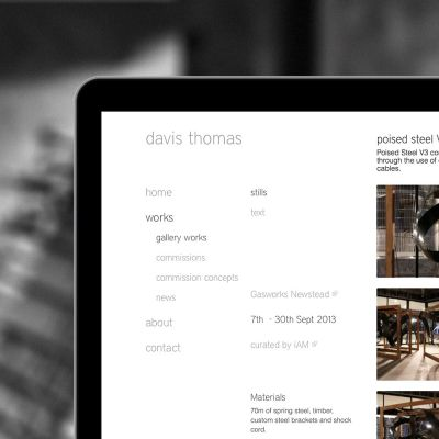 Davis Thomas website